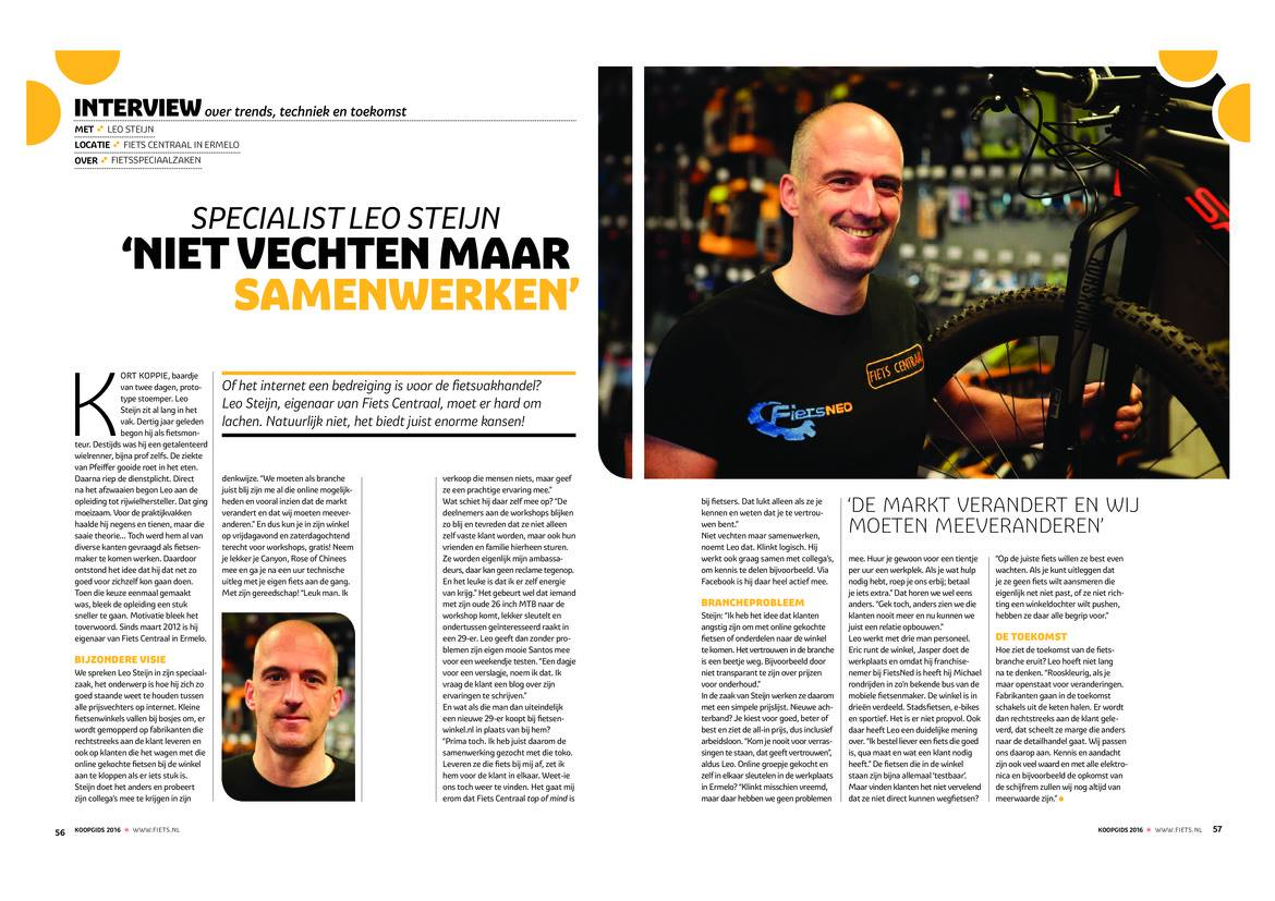 EXPERT LEO STEIJN INTERVIEW IN DE KOOPGIDS